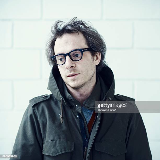 Author Camille de Toledo is photographed for Self Assignment on March 7 2011 in Paris France