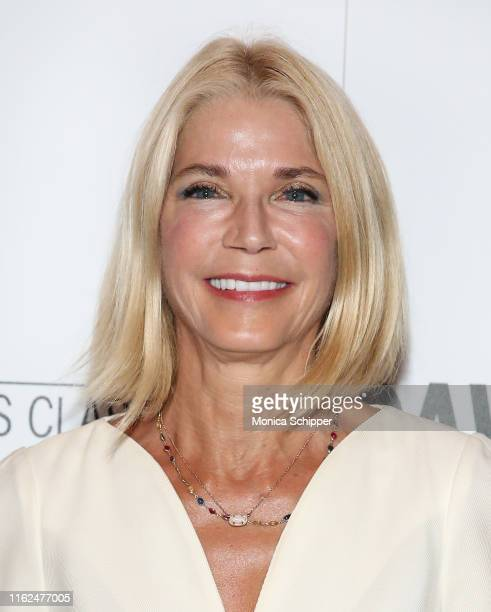 Author Candace Bushnell attends the David Crosby Remember My Name New York Screening hosted by Sony Pictures Classics and The Cinema Society at The...