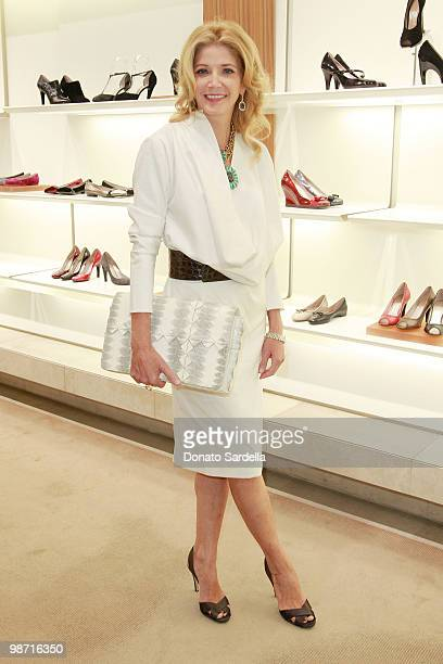 Author Candace Bushnell attends the Ferragamo Hosts Candace Bushnell Book 'One Fifth Avenue' party on September 27 2008 in Beverly Hills California