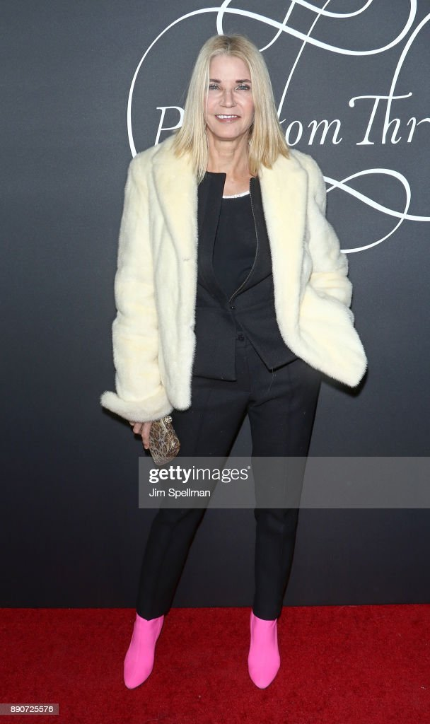 Author Candace Bushnell attends the 'Phantom Thread' New York premiere at Harold Pratt House on December 11, 2017 in New York City.