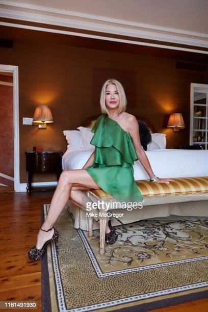 Author Candace Bushnell is photographed for Daily Mail UK on June 3 2019 in New York City PUBLISHED IMAGE
