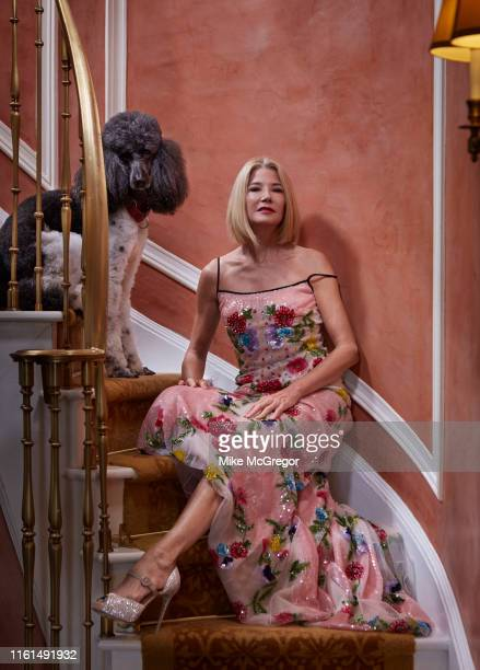 Author Candace Bushnell is photographed for Daily Mail UK on June 3 2019 in New York City