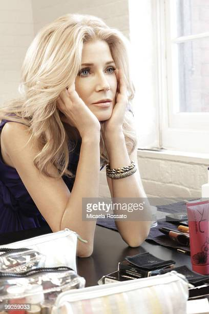Author Candace Bushnell poses for a portrait session in New York in 2010 PUBLISHED IMAGE