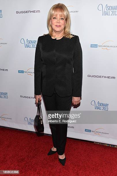 Author candy Spelling arrives to the 2013 UCLA Neurosurgery Visionary Ball at the Beverly Wilshire Four Seasons Hotel on October 24 2013 in Beverly...