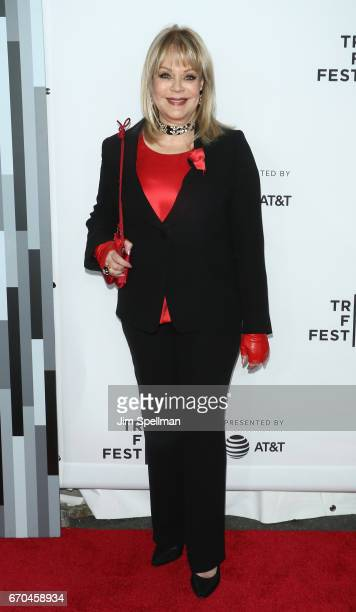 Author Candy Spelling attends the 2017 Tribeca Film Festival Clive Davis The Soundtrack Of Our Lives world premiere opening night at Radio City Music...