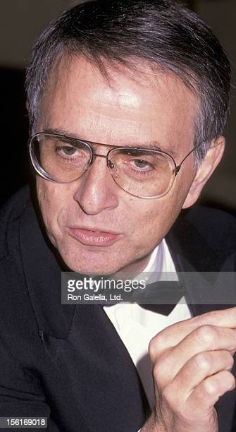 Author Carl Sagan attends Third Annual Better World Society Gala on November 28 1988 at the Waldorf Hotel in New York City