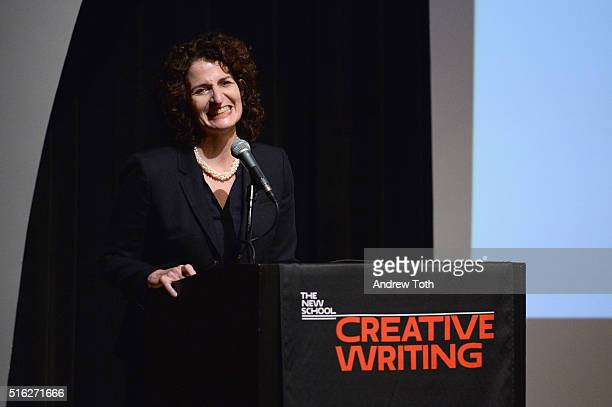 Author Charlotte Gordon attends the 2016 National Book Critics Circle Awards at The New School on March 17 2016 in New York City