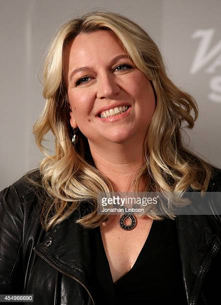 Author Cheryl Strayed attends the Variety Studio presented by Moroccanoil at Holt Renfrew during the 2014 Toronto International Film Festival on...