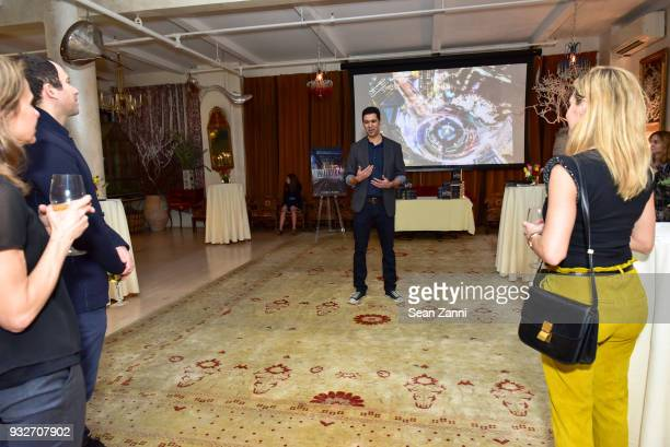 Author Chris Babu attends The Initiation Book Launch at Bouley TK on March 15 2018 in New York City