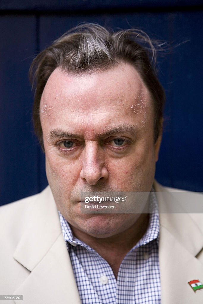 Author Christopher Hitchens poses for a portrait at the annual 'Sunday Times Oxford Literary Festival' held at Christ Church on March 25, 2007 in Oxford, England.