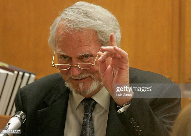 Author Clive Cussler testifies Wednesday April 18 in Los Angeles Superior Court Cussler and Denver billionaire Philip Anschutz have filed dueling...