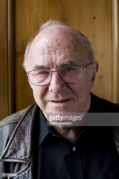 Author Clive James poses for a portrait at the annual Sunday Times Oxford Literary Festival held at Christ Church on March 27 2006 in Oxford England