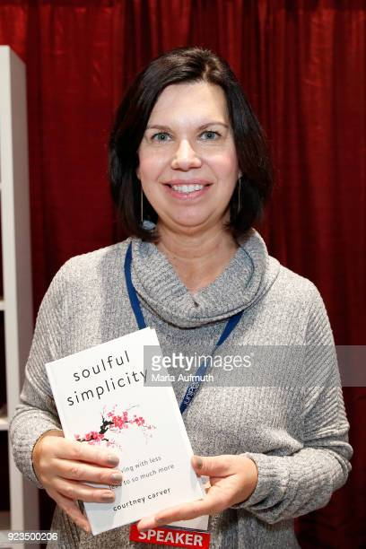 Author Courtney Carver attends the Watermark Conference for Women 2018 at San Jose Convention Center on February 23 2018 in San Jose California