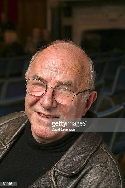 Author critic and TV presenter Clive James poses for a portrait at the annual Sunday Times Oxford Literary Festival held at the Oxford Union March 28...