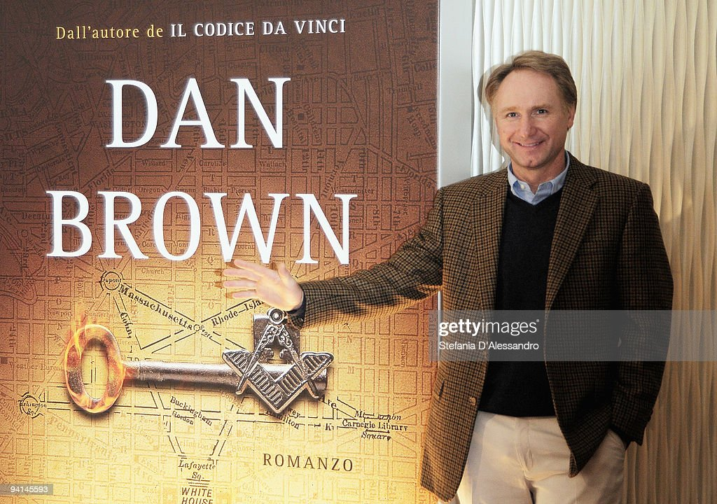 Dan Brown Presents His Book The Lost Symbol In Italy Photos And