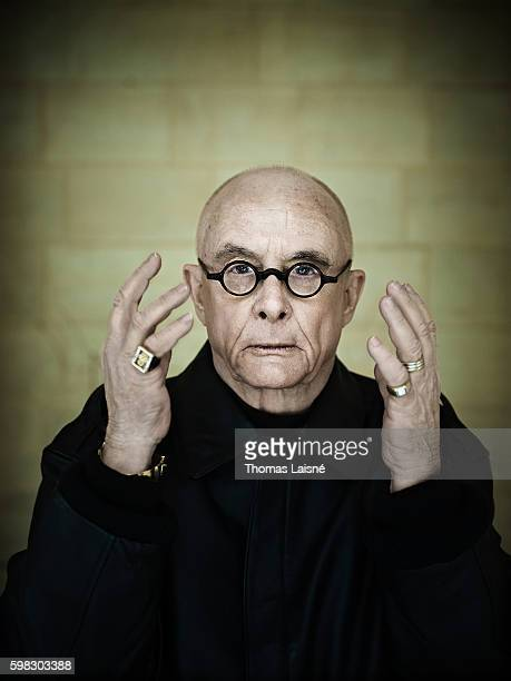 Author Dan Fante is photographed for Self Assignment on March 9 2009 in Paris France
