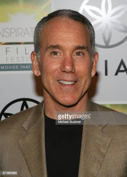 Author Dan Millman arrives at the premiere of Lionsgates's 'Peaceful Warrior' at the Laemmle Theatre on April 28 2006 in Los Angeles California