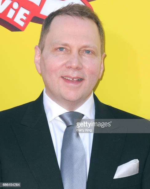 Author Dav Pikey attends premiere of DreamWorks Animation and 20th Century Fox's 'Captain Underpants' at Regency Village Theatre on May 21 2017 in...