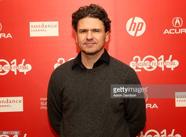 Author Dave Eggers attend 'Exploratory Details' Panel during the 2014 Sundance Film Festival at Egyptian Theatre on January 20 2014 in Park City Utah