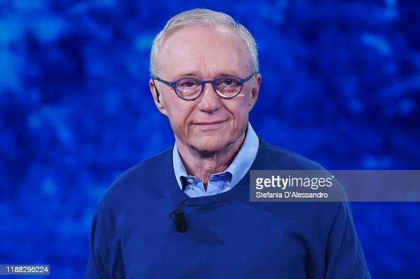 "Author David Grossman attends ""Che Tempo Che Fa"" tv show on November 17, 2019 in Milan, Italy."