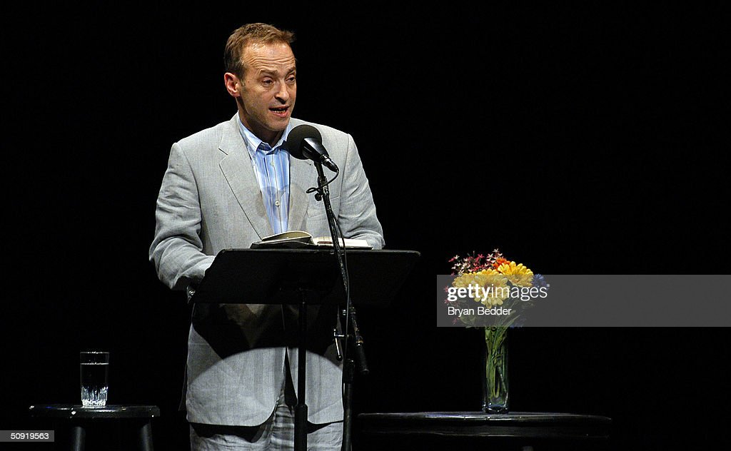 Symphony Space With David Sedaris Presents Selected Shorts : News Photo