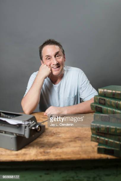 Author David Shannon is photographed for Los Angeles Times on April 21 2018 in the LA Times Studio at the Los Angeles Times Festival of Books at the...