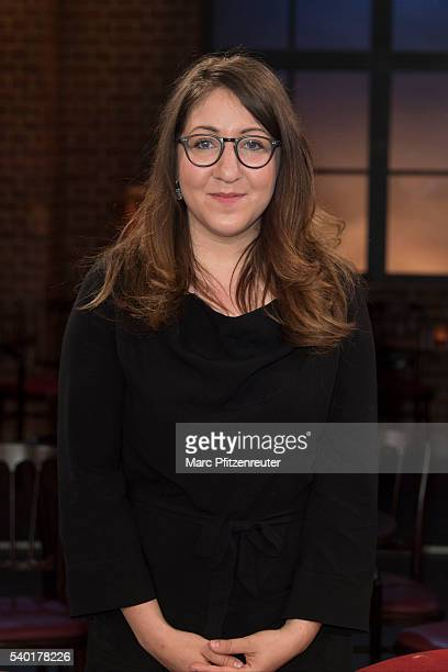 Author Deborah Feldman attends the 'Koelner Treff' TV Show at the WDR Studio on June 14 2016 in Cologne Germany