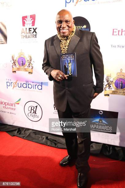 Author Dee Thompson arrives at the 2017 HAPAwards at Alex Theatre on November 18 2017 in Glendale California