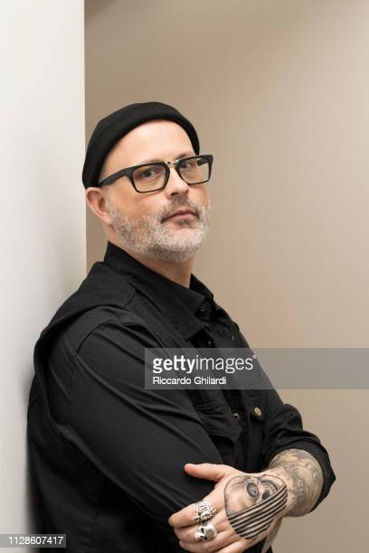 Author Denis Cote poses for a portrait during the 69th Berlinale International Film Festival on February 8 2019 in Berlin Germany