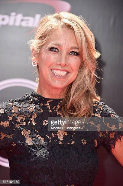 Author Denise Austin attends the 2016 ESPYS at Microsoft Theater on July 13 2016 in Los Angeles California