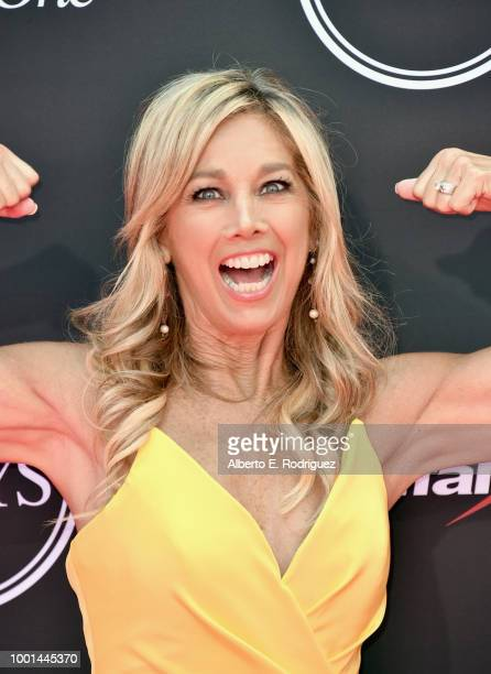 Author Denise Austin attends The 2018 ESPYS at Microsoft Theater on July 18, 2018 in Los Angeles, California.