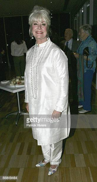 Author Di Morrissey at the launch of Lizzie Spender's book Wild Horse Diaries at the Art Gallery of New South Wales on October 4 2005 in Sydney...