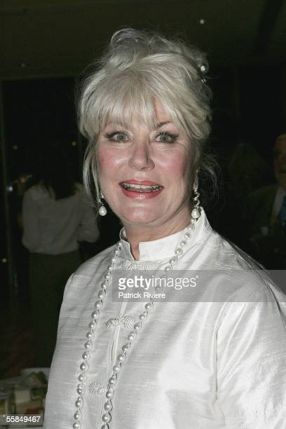 Author Di Morrissey attends the launch of Lizzie Spender's book Wild Horse Diaries at the Art Gallery of New South Wales on October 4 2005 in Sydney...