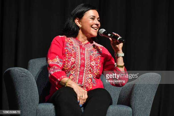 Author Diana Gabaldon of 'Outlander' attends Wizard World Comic Con at Ernest N Morial Convention Center on January 05 2019 in New Orleans Louisiana