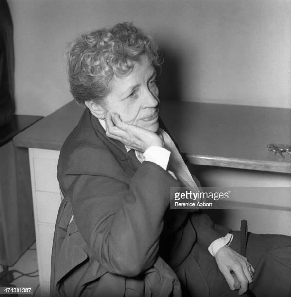 Author Djuna Barnes Greenwich Village New York City New York circa 1945
