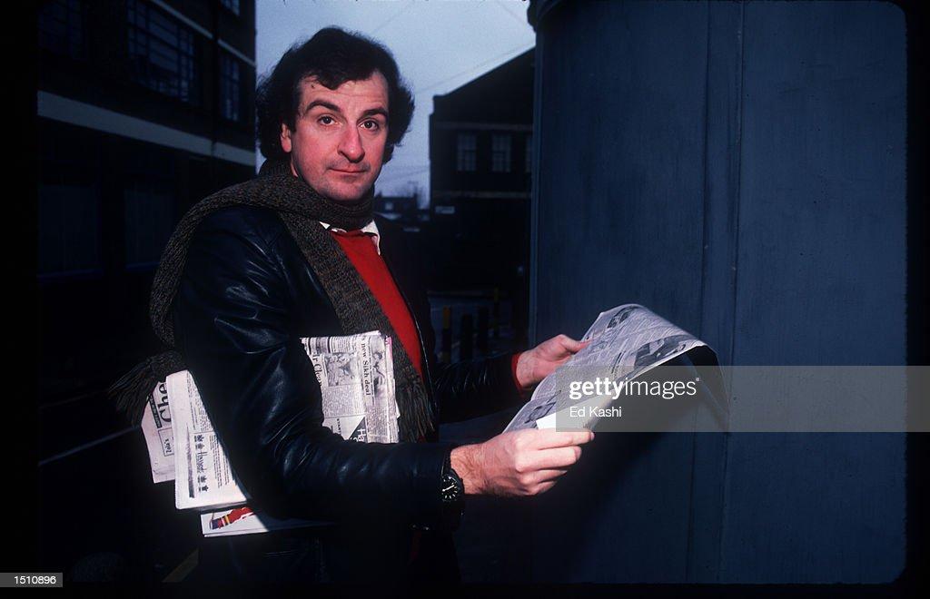 Douglas Adams In England : News Photo