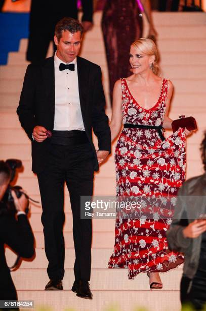 Author Douglas Brunt and television personality Megyn Kelly the Rei Kawakubo/Comme des Garcons Art Of The InBetween' Costume Institute Gala at the...