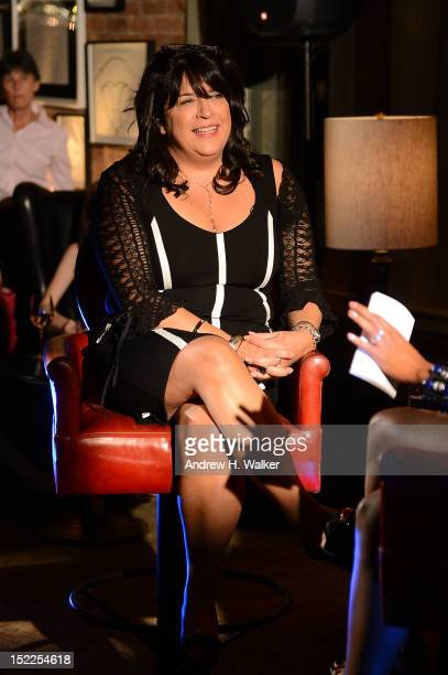 Author E L James attends the Fifty Shades Of Grey The Classical Album Launch Event at Soho House on September 17 2012 in New York City