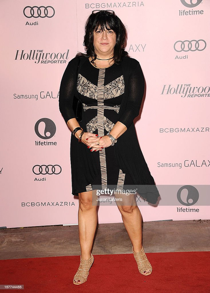 Author E. L. James attends the Hollywood Reporter's 21st annual Women In Entertainment breakfast at The Beverly Hills Hotel on December 5, 2012 in Beverly Hills, California.