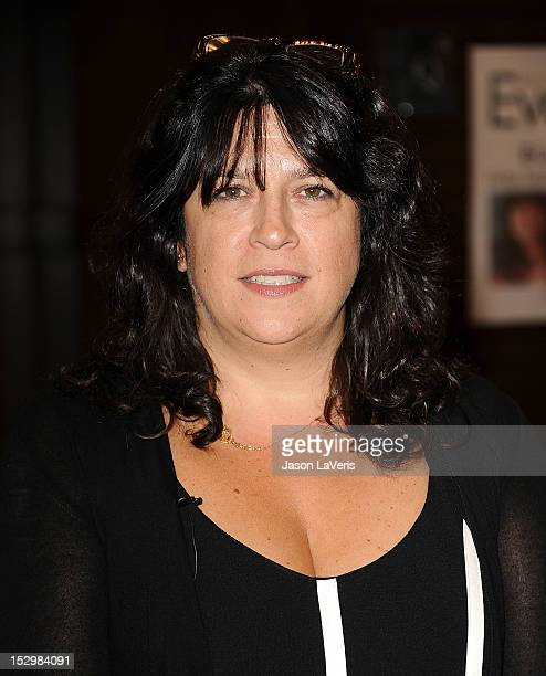 """Author E.L. James signs copies of her book """"Fifty Shades of Grey"""" at Barnes & Noble bookstore at The Grove on September 28, 2012 in Los Angeles,..."""