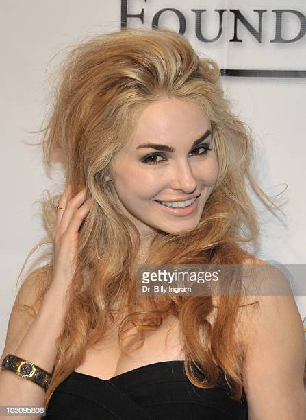 Author Elizabeth TenHouten attends Elevate Hope Foundation Presents An Evening With Angels Arrivals at Boulevard3 on July 25 2010 in Hollywood...