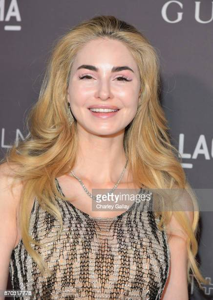 Author Elizabeth TenHouten attends the 2017 LACMA Art Film Gala Honoring Mark Bradford and George Lucas presented by Gucci at LACMA on November 4...