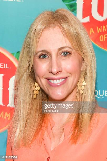 Author Emily Giffin attends Atlanta Premiere of Cirque du Soleil's LUZIA A Waking Dream of Mexico at Big Top at Atlantic Station on September 14 2017...