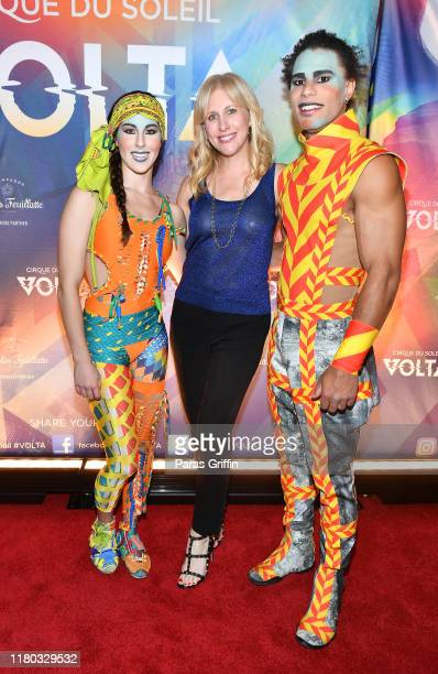 Author Emily Giffin attends the Atlanta premiere of VOLTA By Cirque du Soleil at Atlantic Station on October 10 2019 in Atlanta Georgia