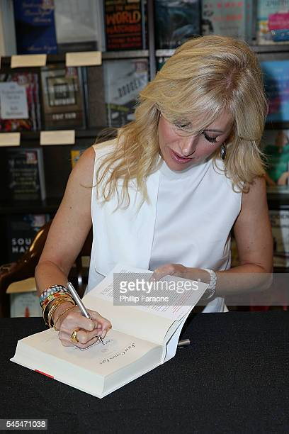 Author Emily Giffin attends the book signing for First Comes Love at Barnes Noble on July 7 2016 in Huntington Beach California