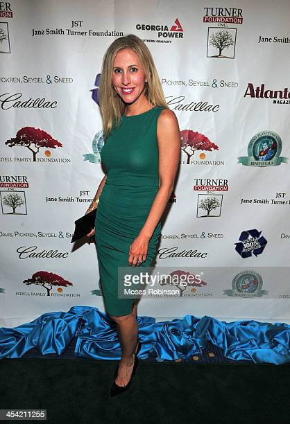 Author Emily Giffin attends the Captain Planet Foundation benefit gala at Georgia Aquarium on December 6 2013 in Atlanta Georgia