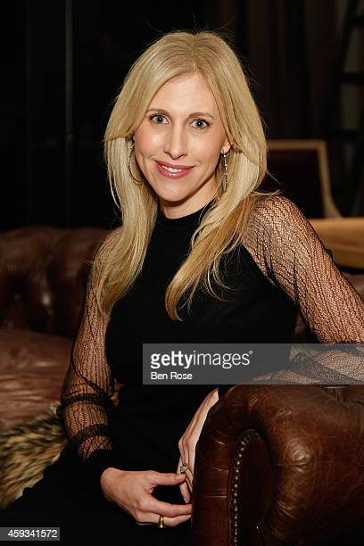 Author Emily Giffin attends the RH Atlanta The Gallery at the Estate in Buckhead opening celebration on November 20 2014 in Atlanta Georgia