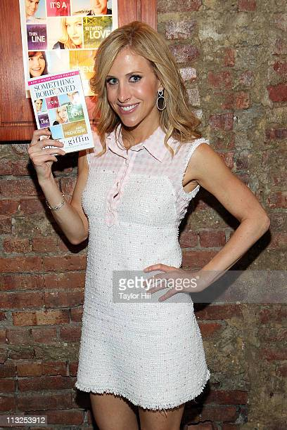 Author Emily Giffin surprises riders on On Location Tours on April 28 2011 in New York City