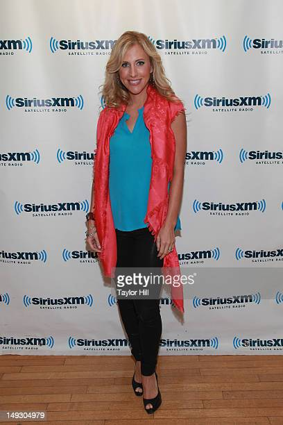 Author Emily Giffin visits SiriusXM Studios on July 26 2012 in New York City