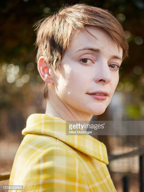 Author Emily St John Mandel is photographed for The Observer on February 16 2020 in New York City